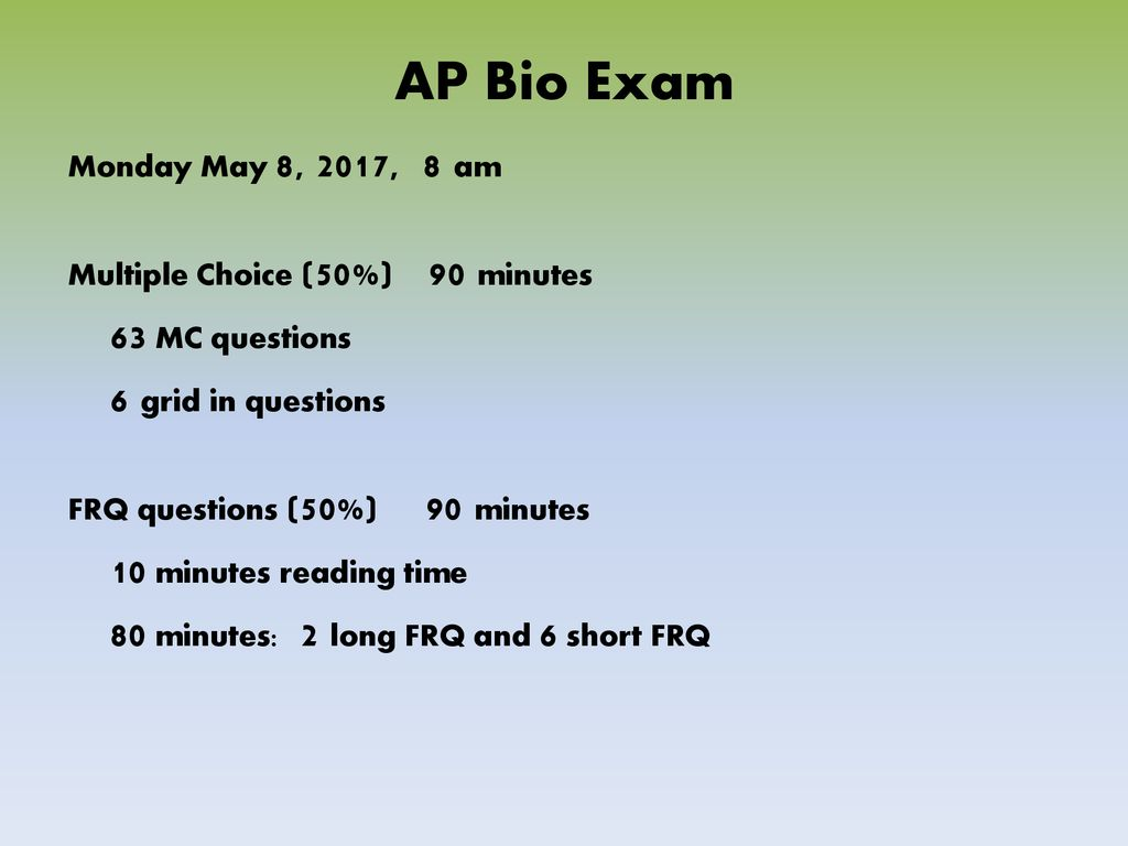 What is AP Biology?  - ppt download