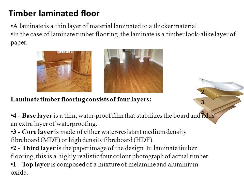 Timber Laminated Floor