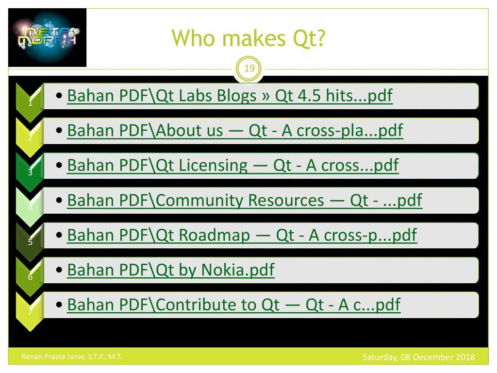 Multi Platform Programming With Qt Ppt Download