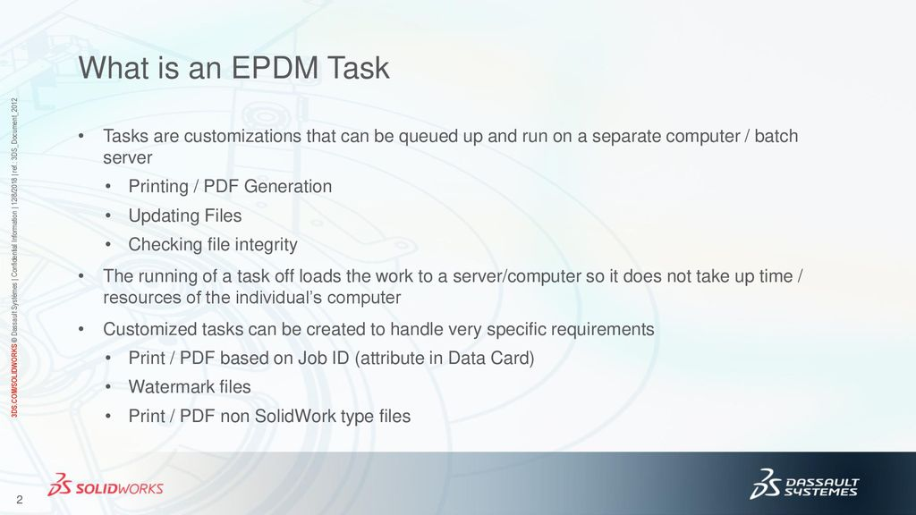 Exploring the Power of EPDM Tasks - Working with and Developing