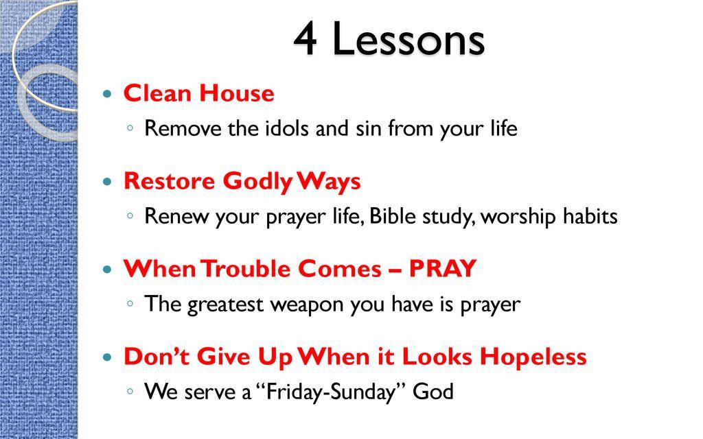 LIFE SAVING XX Hezekiah  - ppt download