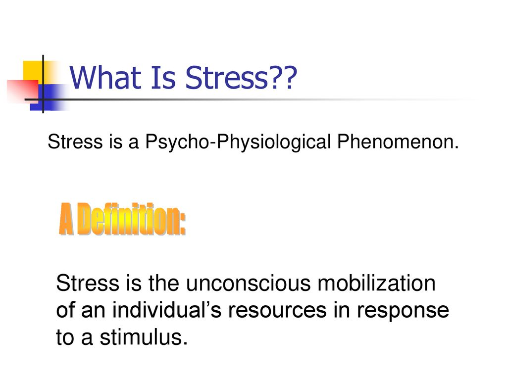 stress. - ppt download