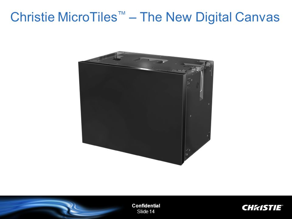 Christie MicroTiles™ – The New Digital Canvas