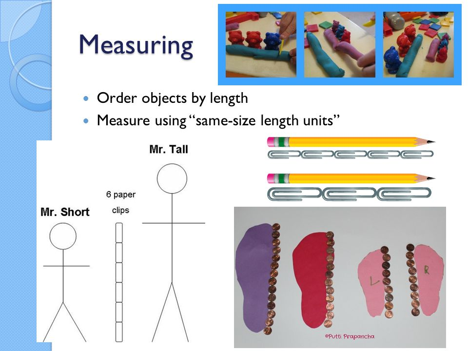 Measuring Order objects by length