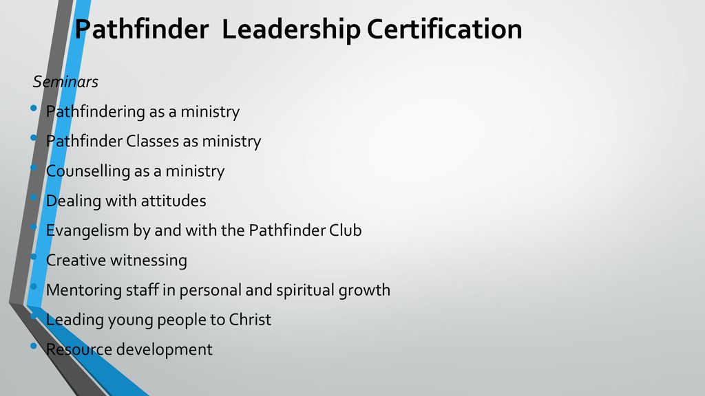 The Pathfinder Leadership Programme Plp Ppt Download