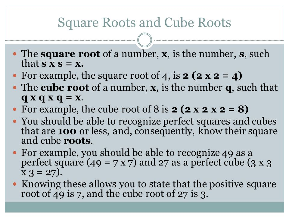 Printable Worksheets square roots and cube roots worksheets : Lesson 2: Perfect Squares and Cubes, Square and Cube Roots - ppt ...