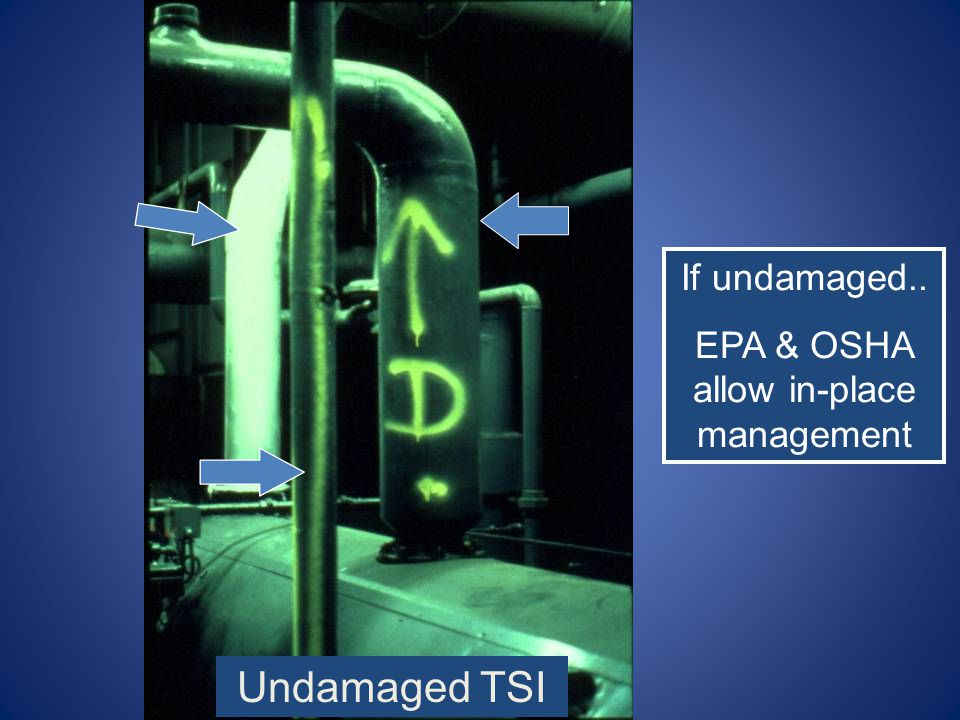 EPA & OSHA allow in-place management