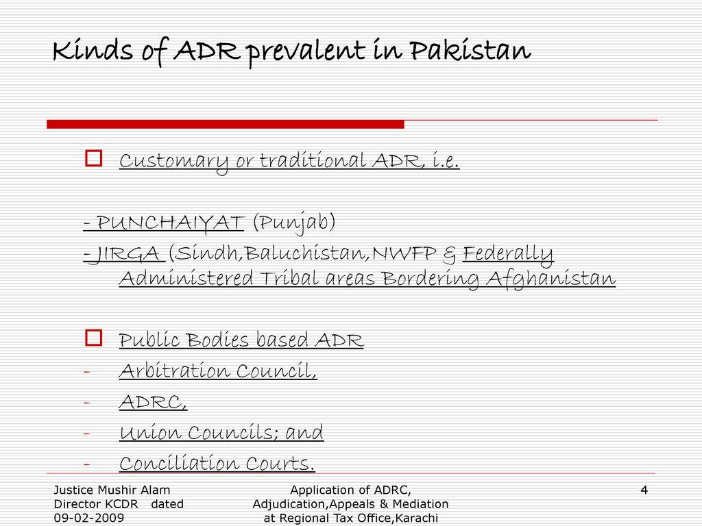 Adjudication, Appeals & Mediation - ppt download