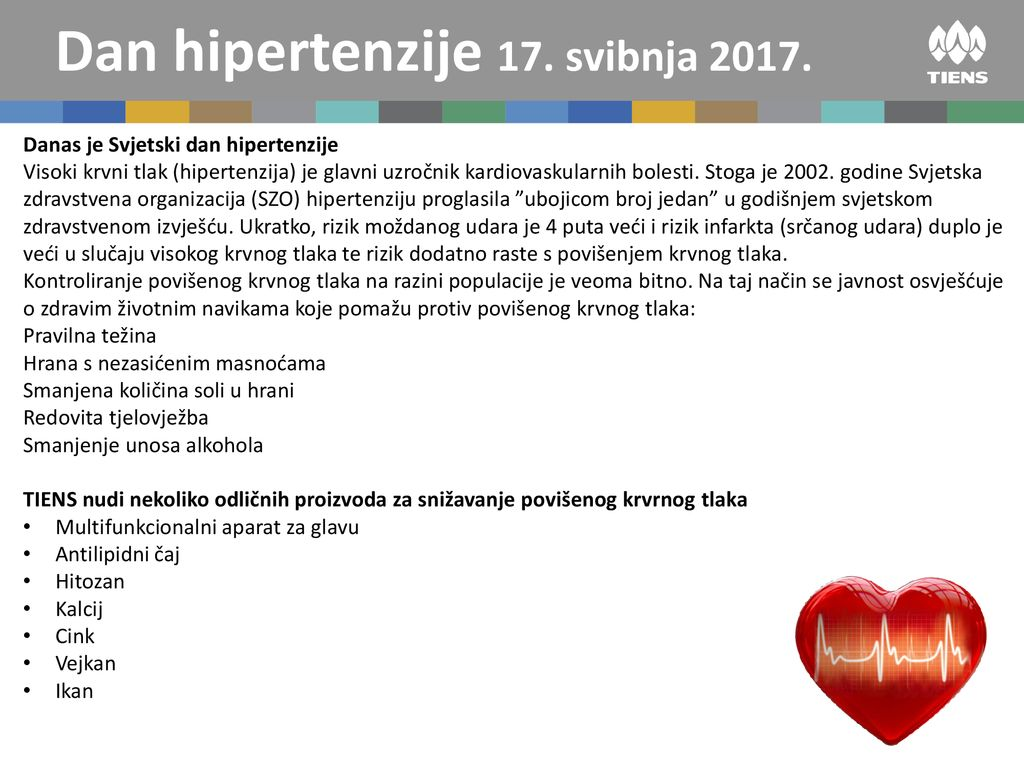 Pirminė arterinė hipertenzija | profine.lt