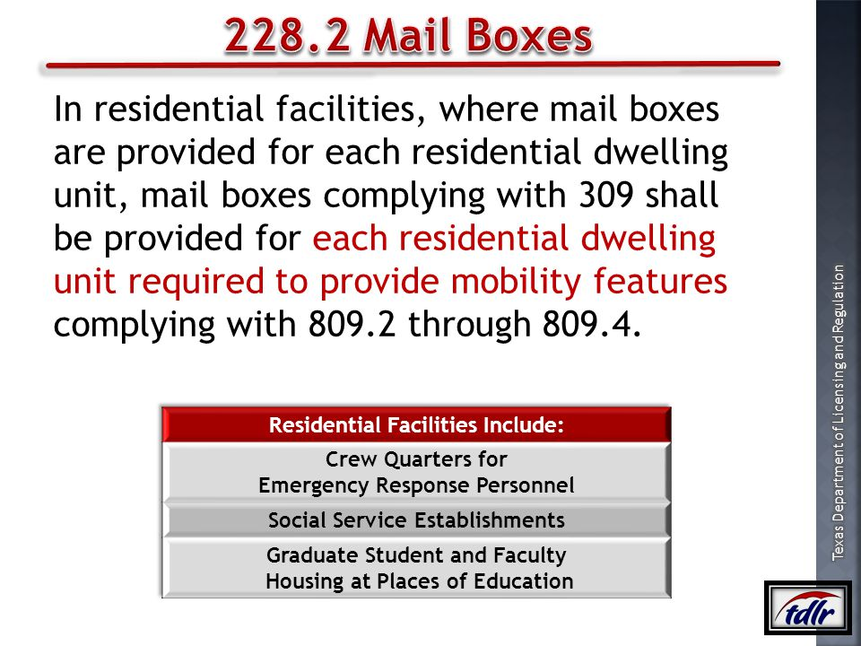 228.2 Mail Boxes