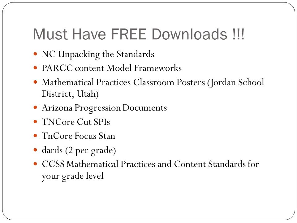 Must Have FREE Downloads !!!