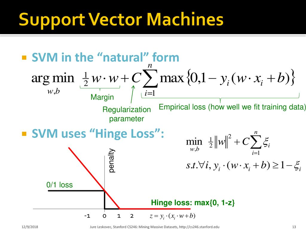 Large Scale Support Vector Machines - ppt download