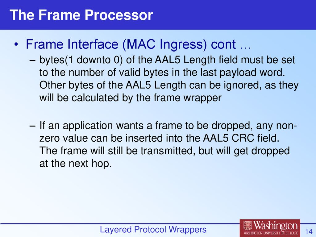 Layered Protocol Wrappers Design and Interface review - ppt