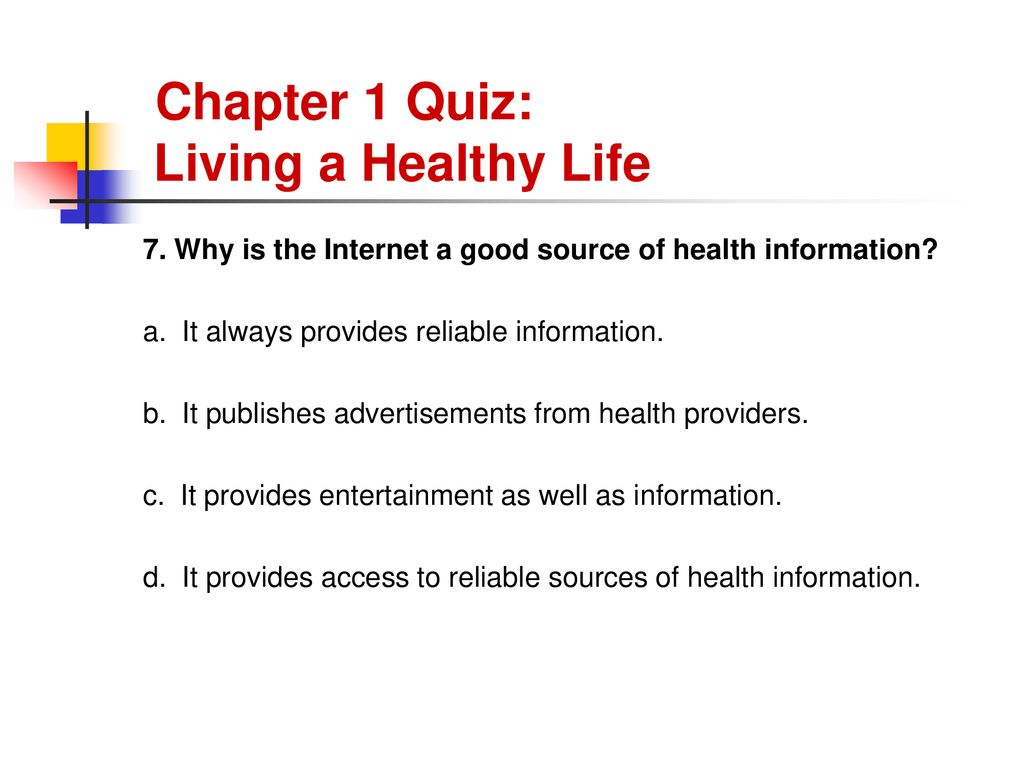 YOUR HEALTH and WELLNESS - ppt download