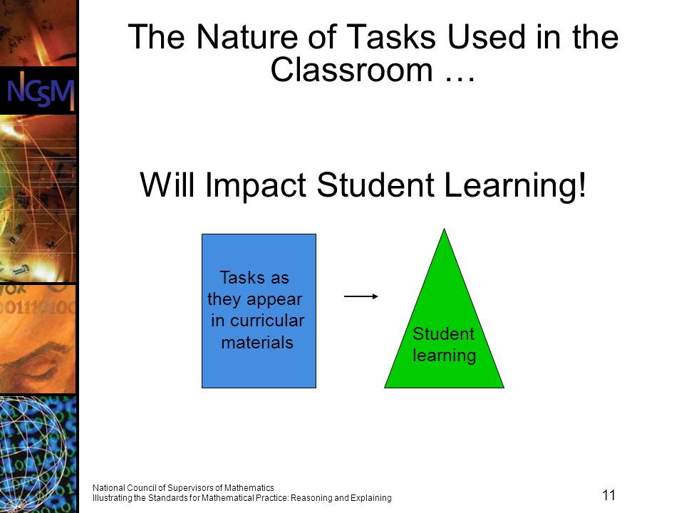 The Nature of Tasks Used in the Classroom …