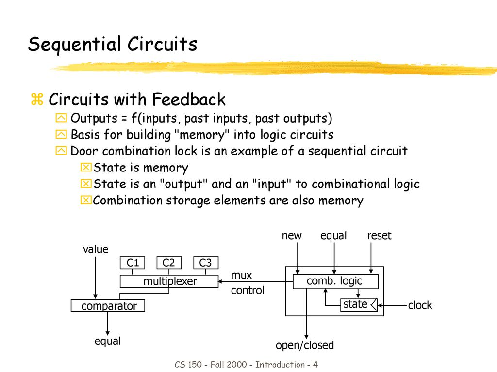 Cs150 Midterm2 Review Joy Another Midterm Ppt Download Combination Lock Circuit 4 Cs