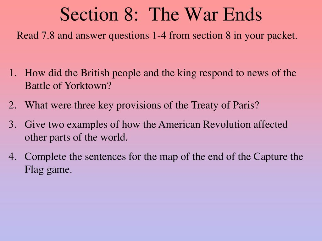 how the american revolution affected the world