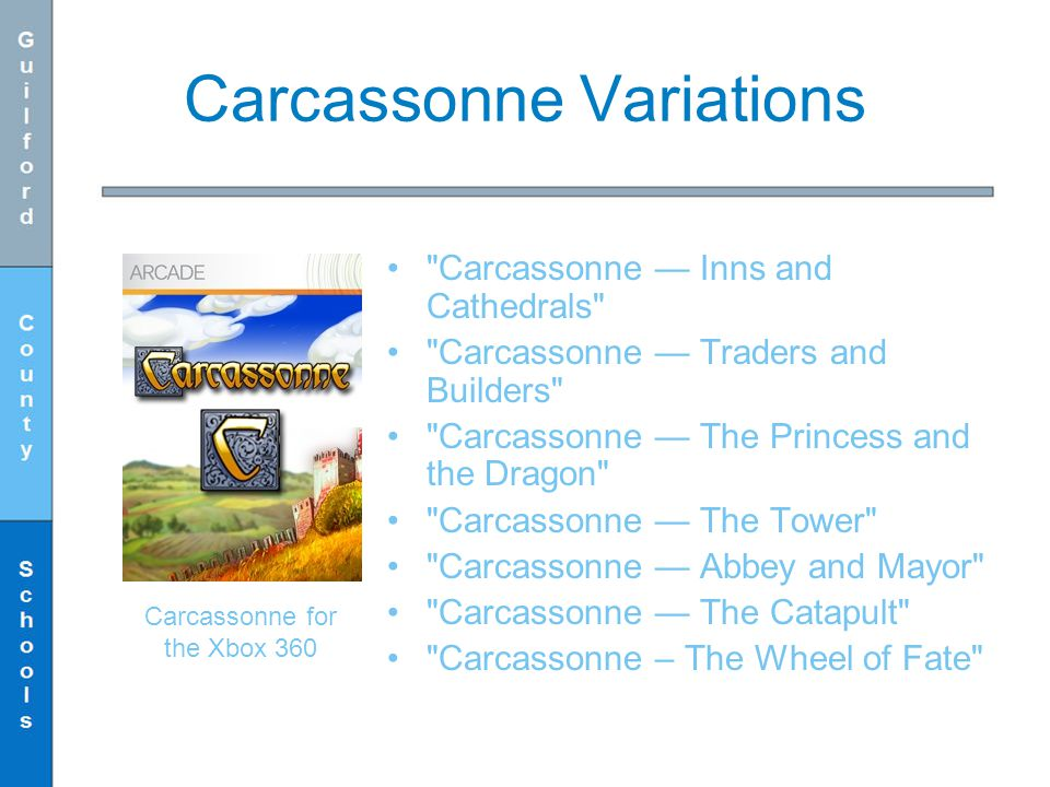 Carcassonne Variations