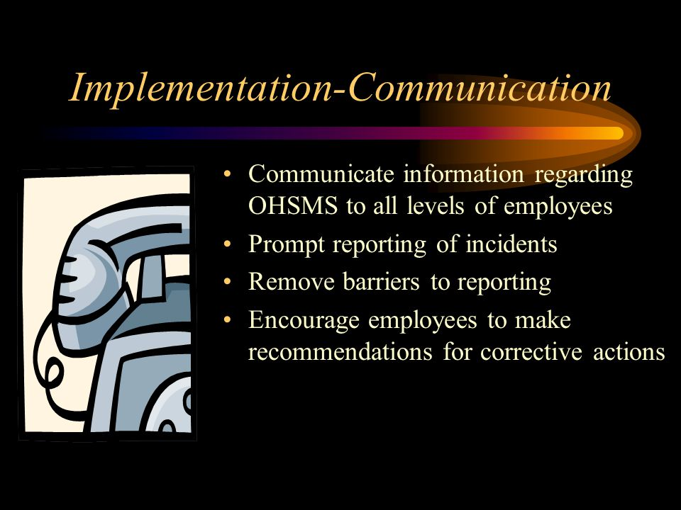 Implementation-Communication