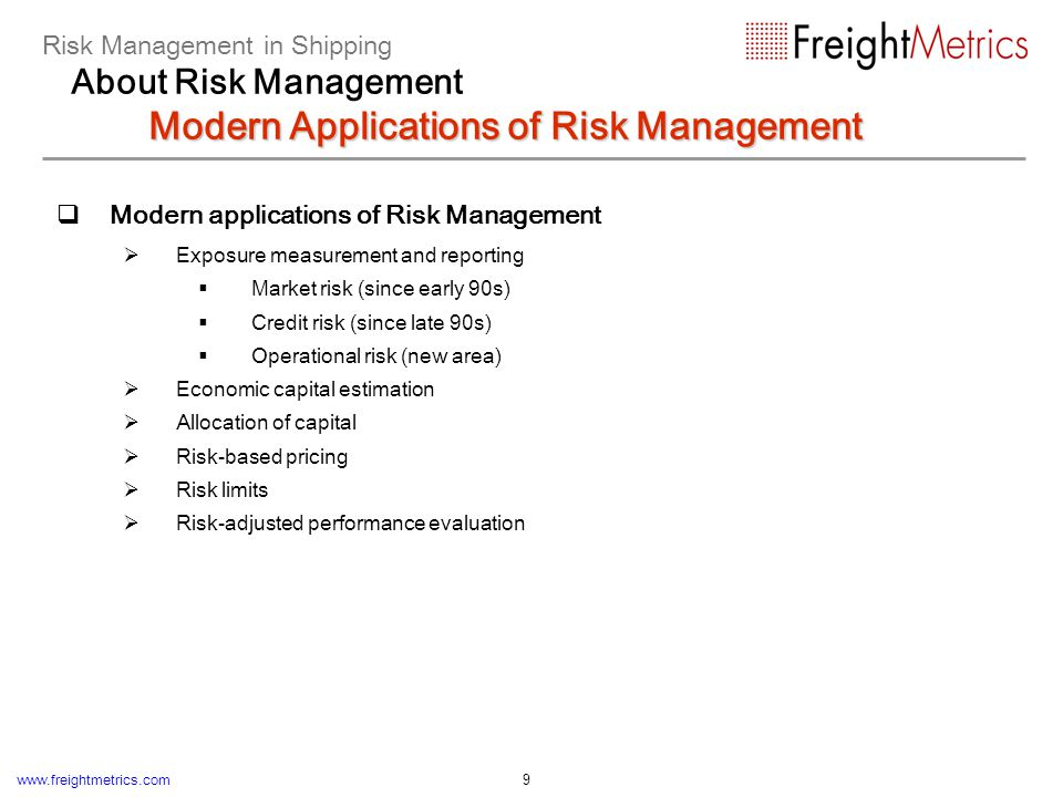 Example: Risk-Adjusted Performance Evaluation