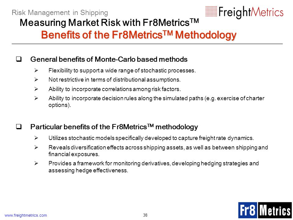 Risk Management in Shipping Measuring Market Risk with Fr8MetricsTM