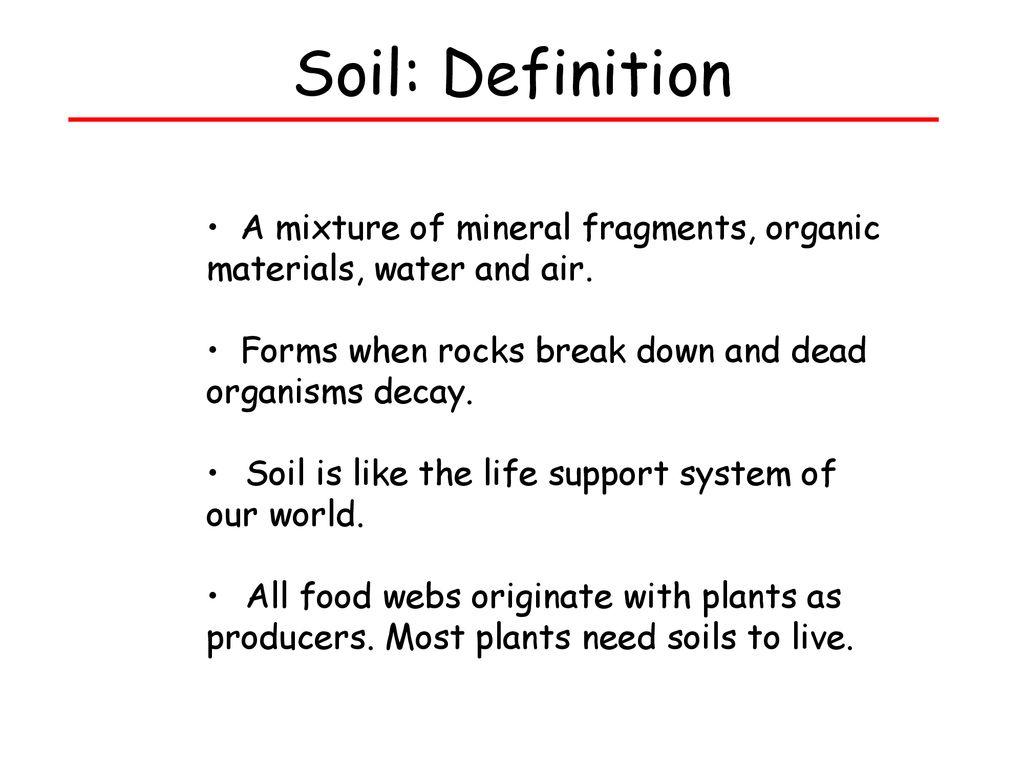soils. - ppt download