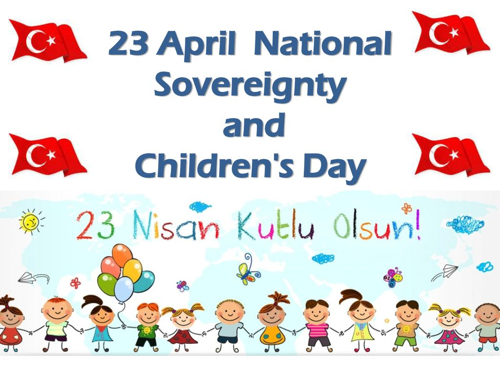 23 April Childrens Day Wallpaper