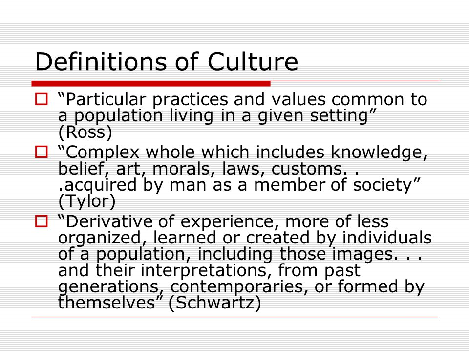 Culture and Conflict Management - ppt video online download