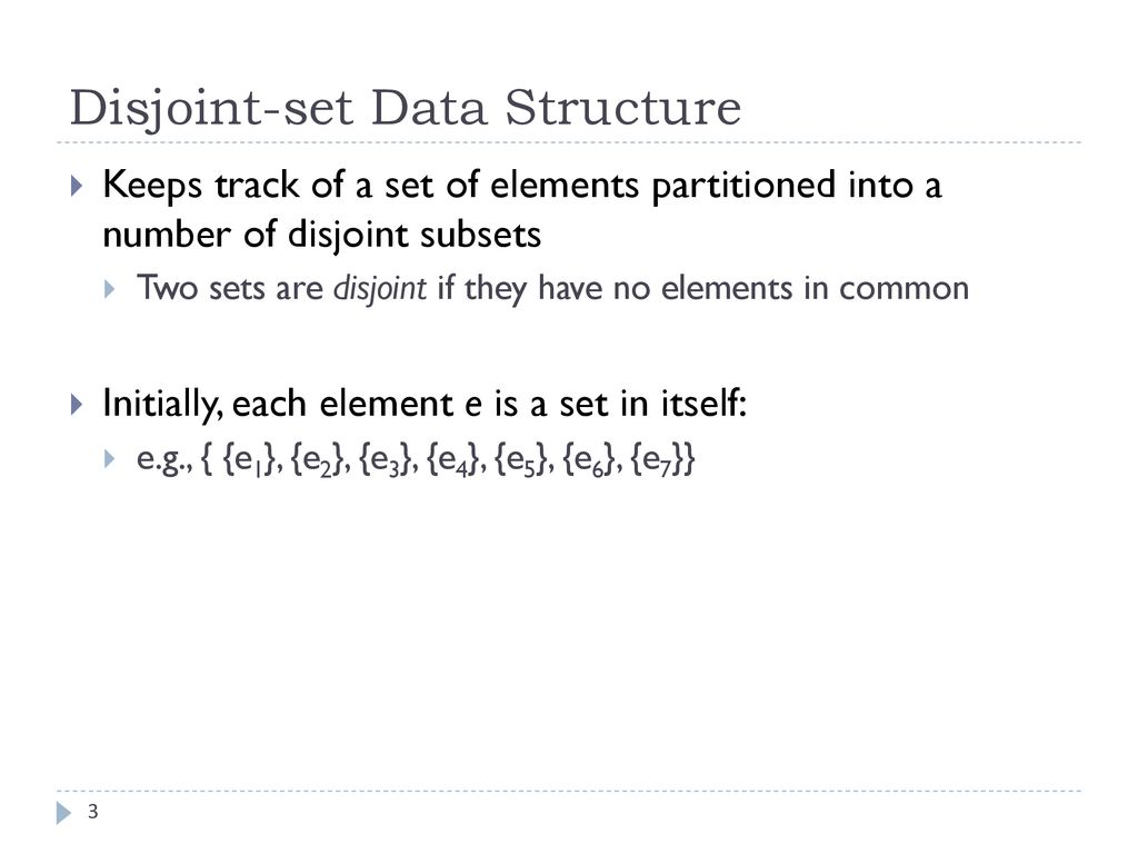 set data structure