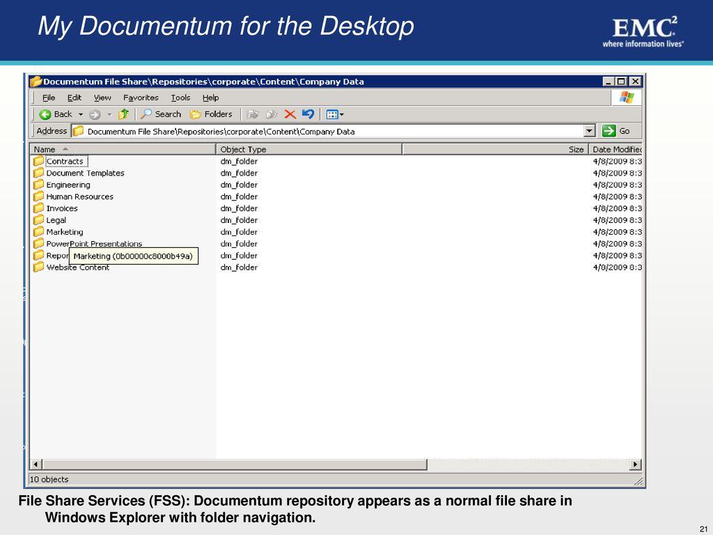 EMC Documentum Enterprise Content Management Overview # 2 - ppt download