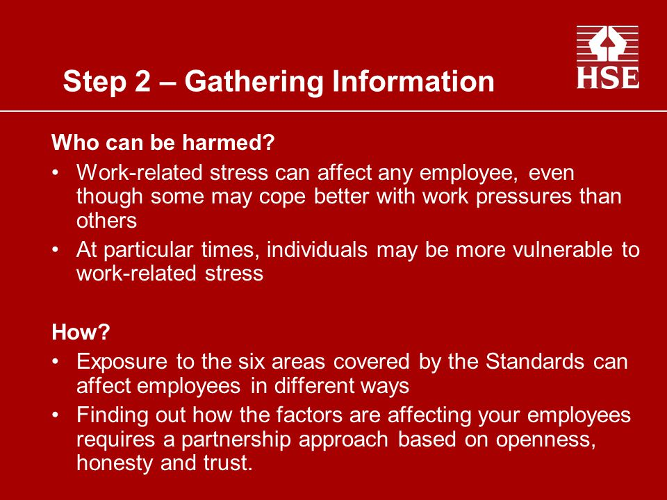Step 2 – Gathering Information