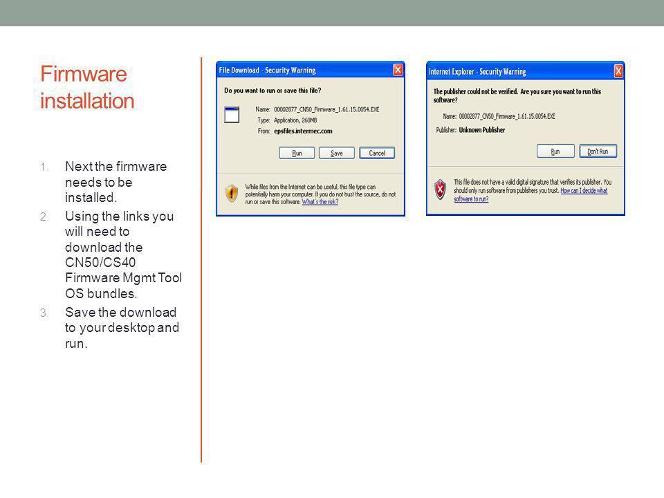 Intermec Firmware Management Tool - ppt video online download