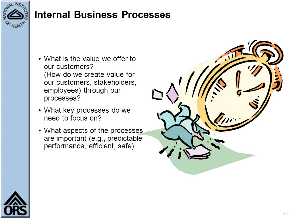 Internal Business Processes