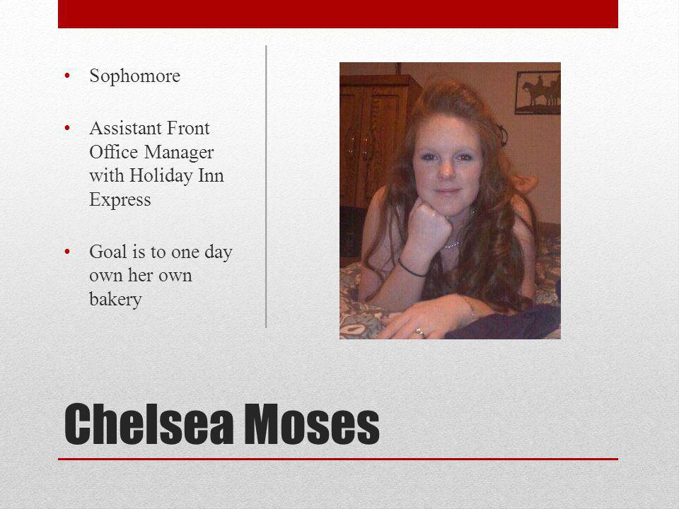 Chelsea Moses Sophomore