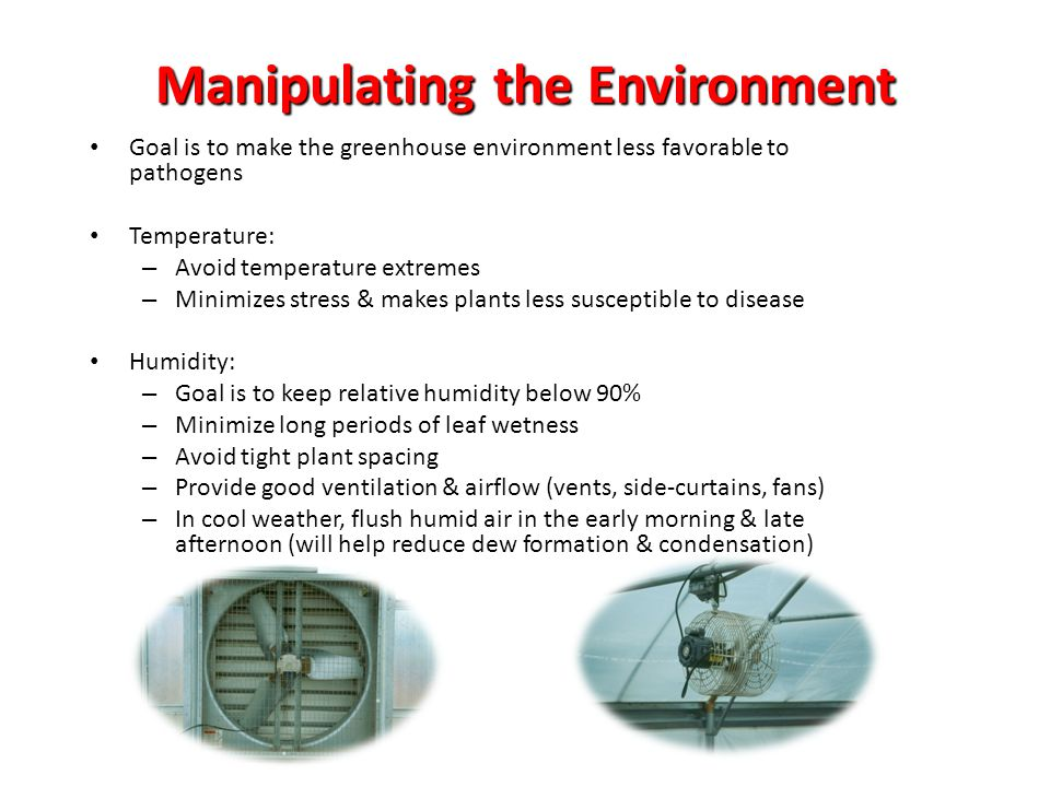 Manipulating the Environment