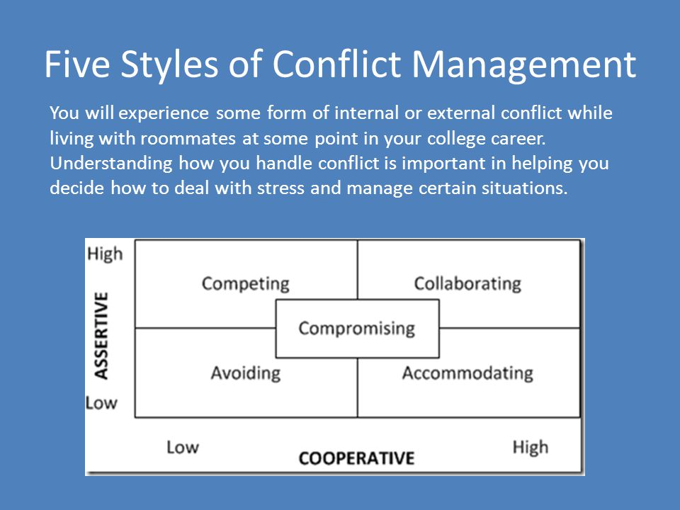 how to manage and handle conflict Conflict gets a bad rap most people tend to view conflict as a bad thing, automatically assuming it has to be an adversarial win or lose situation the reality is that conflict is inevitable in relationships and it isn't inherently a negative thing it depends if you choose to manage the conflict.