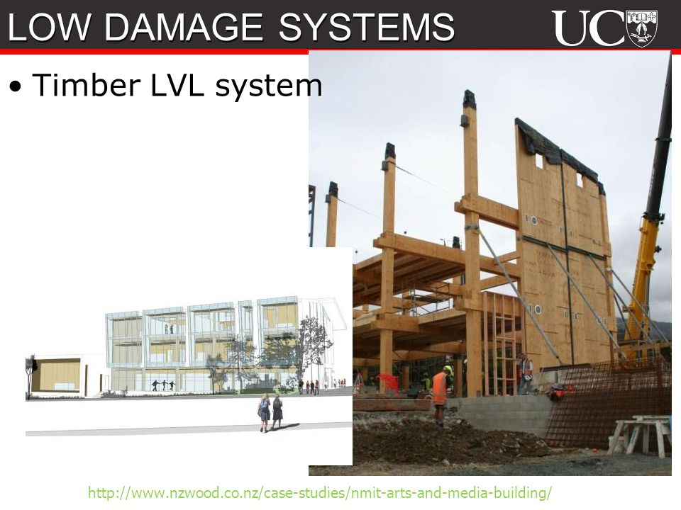 LOW DAMAGE SYSTEMS Timber LVL system