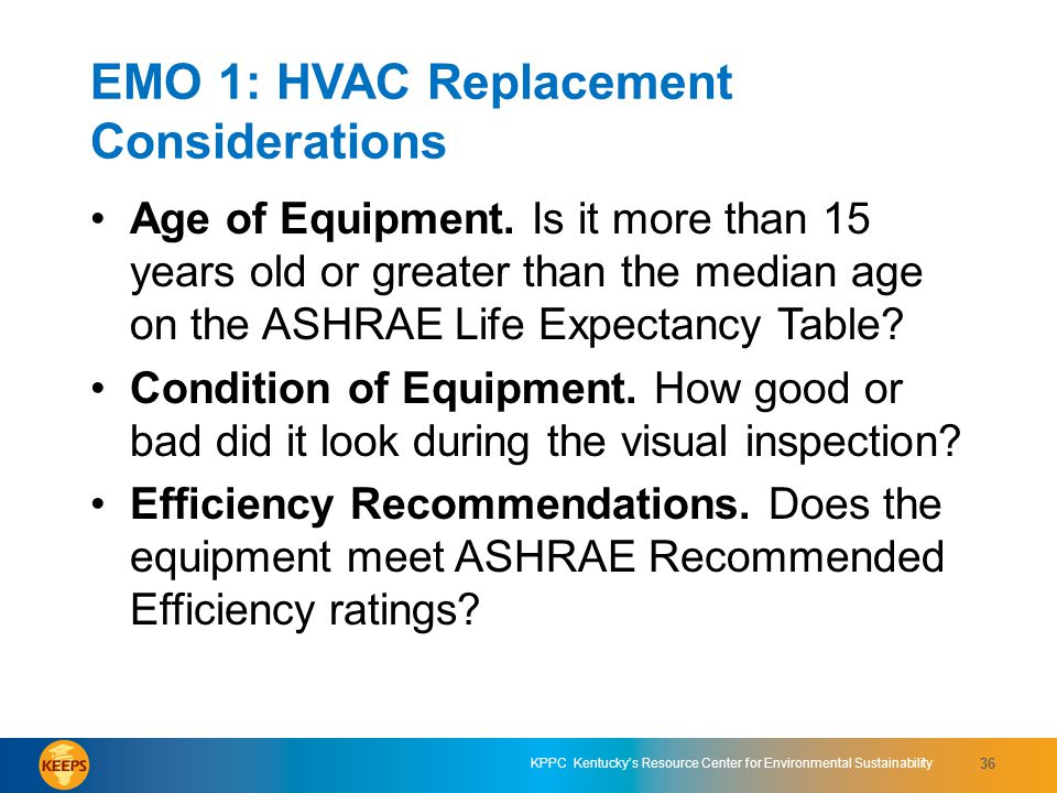 EMO 1: HVAC Replacement Considerations