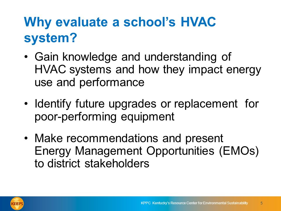 Why evaluate a school's HVAC system