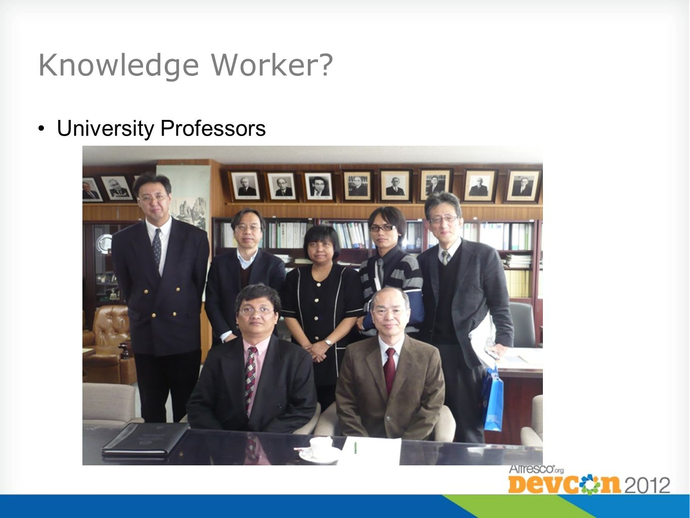 Knowledge Worker University Professors