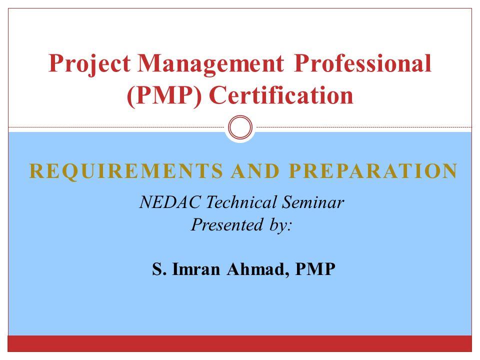 Project Management Professional Pmp Certification Ppt Download