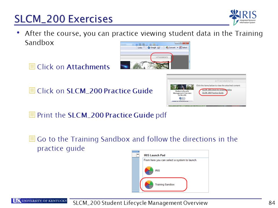 SLCM_200 Student Lifecycle Management Overview