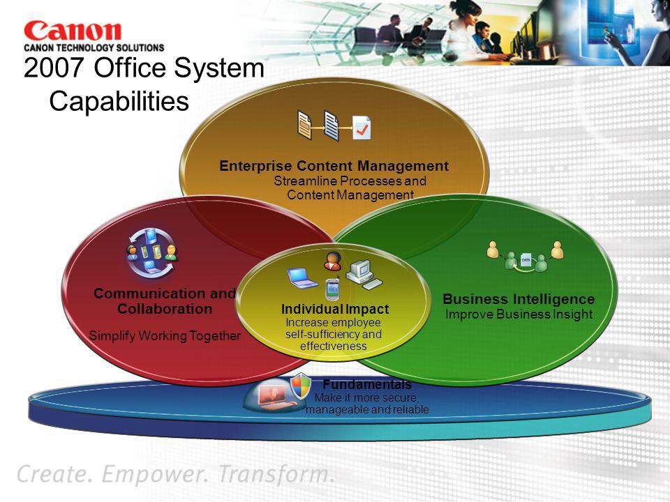 2007 Office System Capabilities