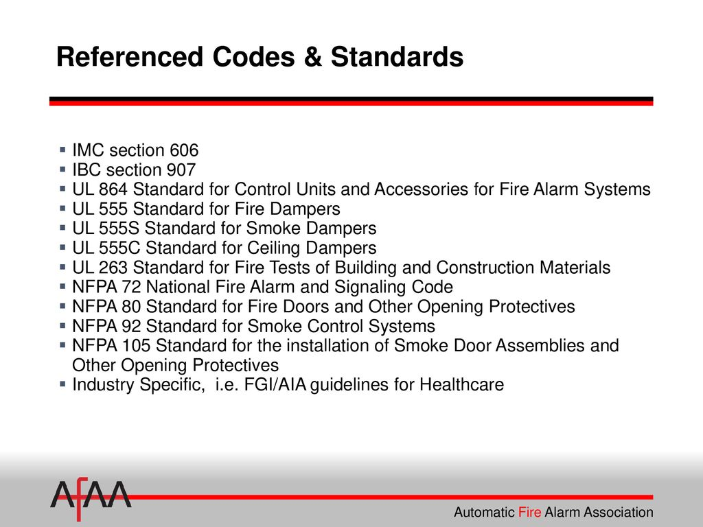 Fire Alarm Interface Of Smoke Dampers Ppt Download Using Ne555 And Temperature Sensor 41 Referenced Codes Standards