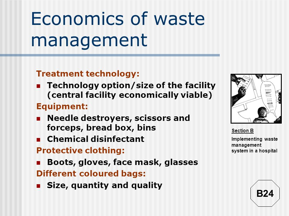 Economics of waste management