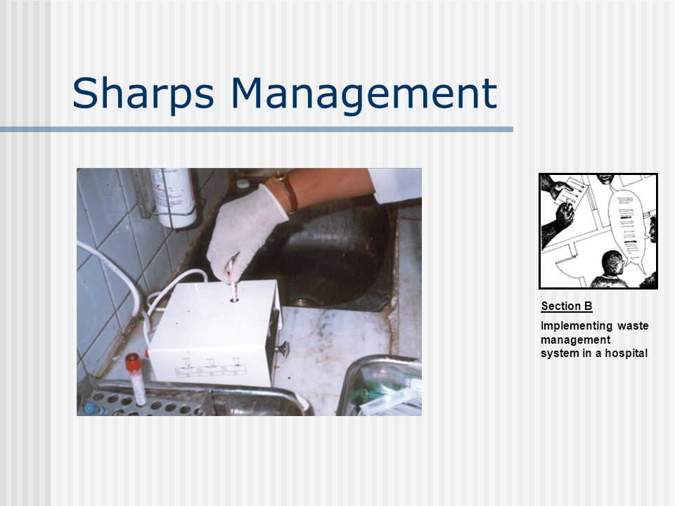 Sharps Management