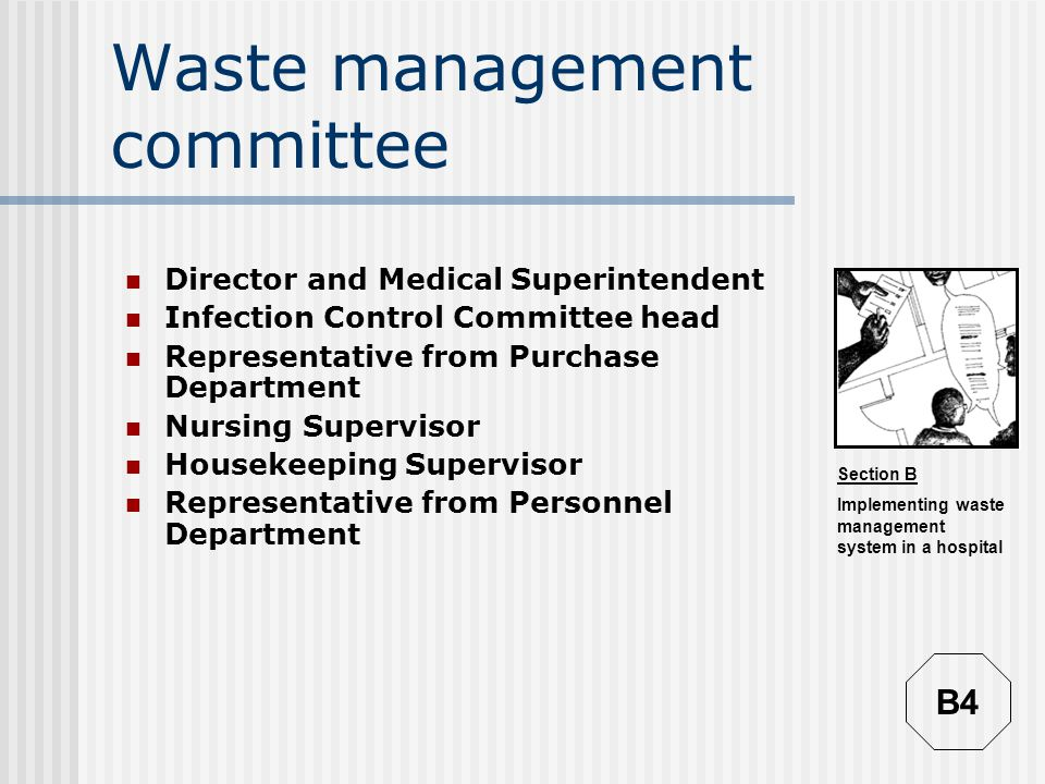 Waste management committee