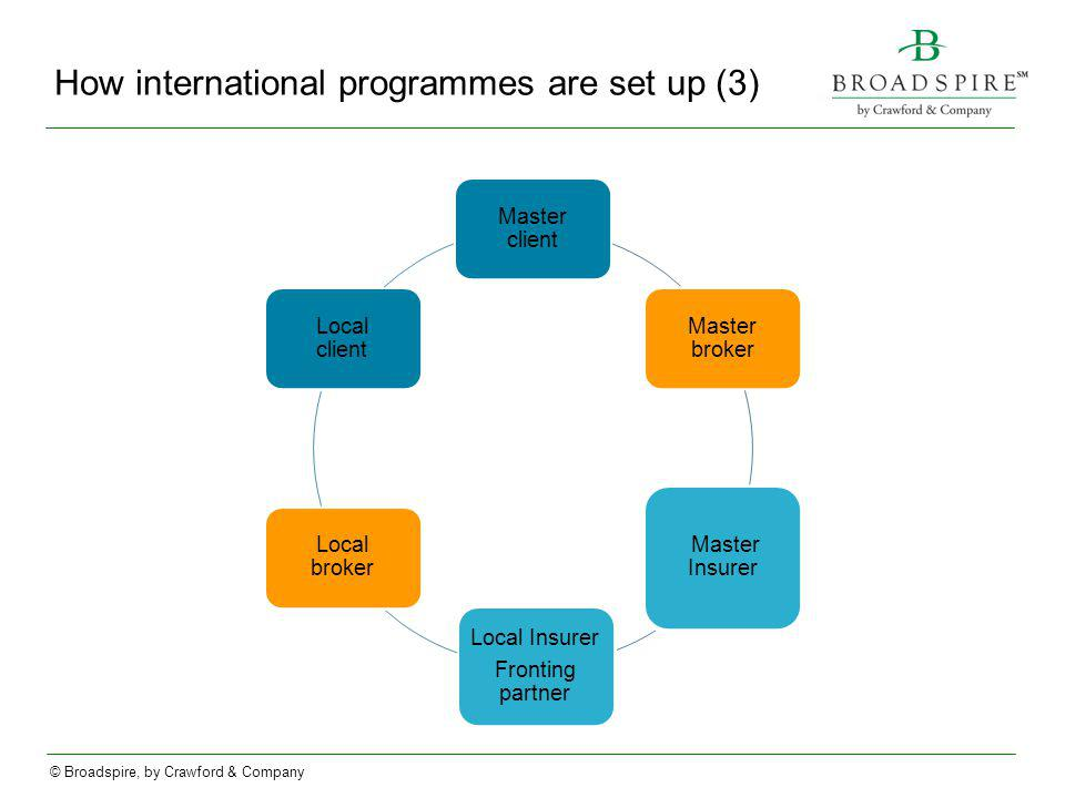 How international programmes are set up (3)