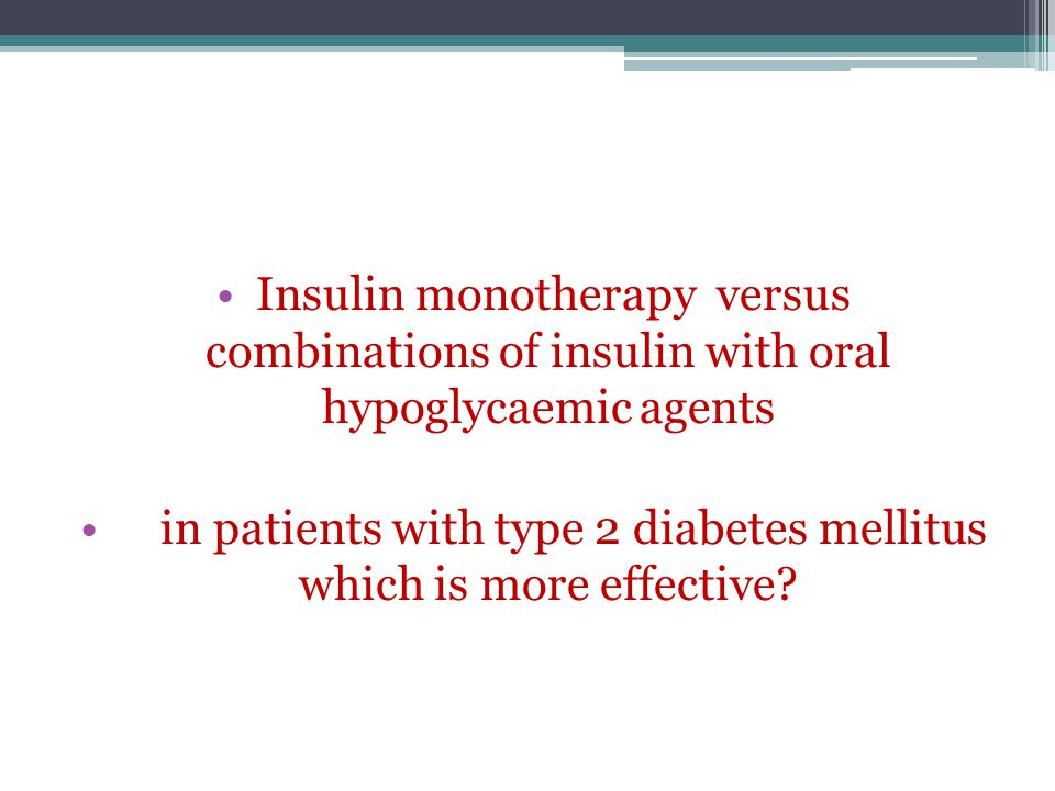 in patients with type 2 diabetes mellitus which is more effective