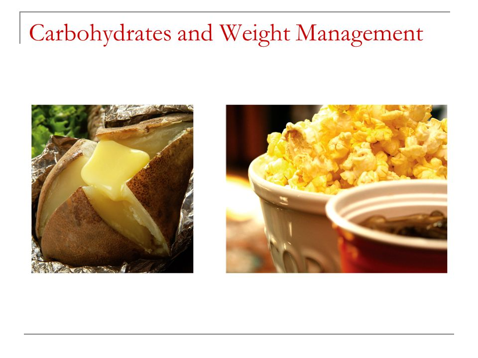Carbohydrates and Weight Management